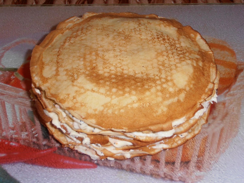 Блинные торты фото рецепт пошаговый