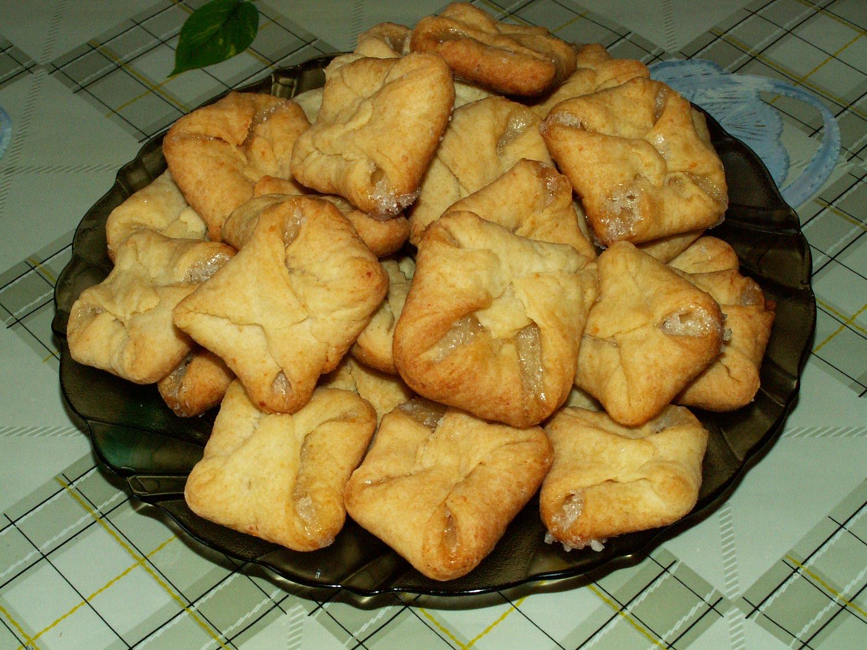 Печенье из творога конвертики пошаговый