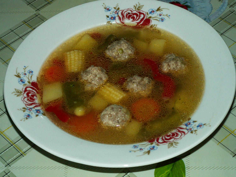 овощной суп рецепт из замороженных овощей