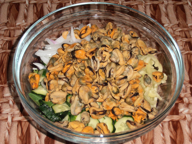 Салат с мидиями самый вкусный: рецепты, способ приготовления и отзывы 205
