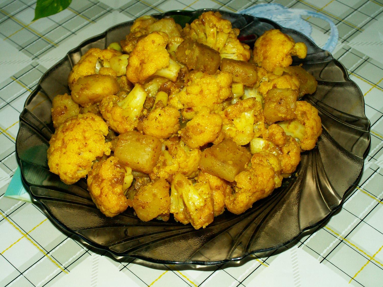 Цветная капуста с картошкой рецепты