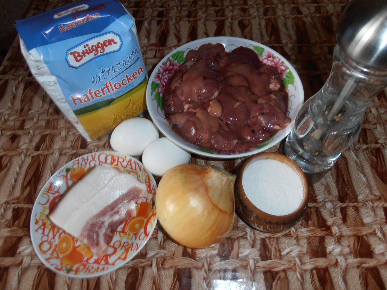 Печеночники с манкой рецепт с фото