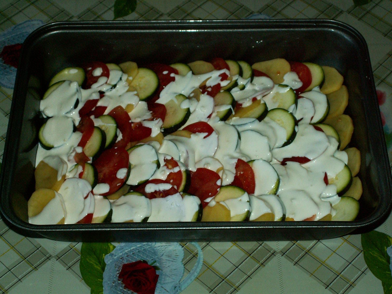 Кабачки в духовке с помидорами и сыром рецепт с пошагово в